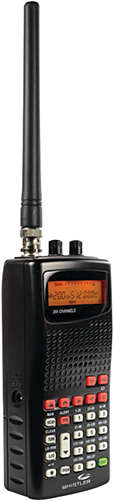 Whistler WS1010 Analog Handheld Scanner (Black)
